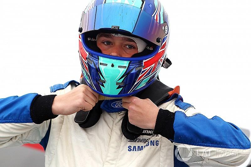 Billy Monger F3-as autót tesztelhetett