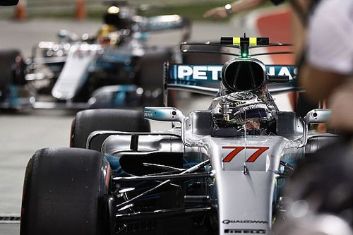 La parrilla de salida del GP de Bahrein, en imágenes