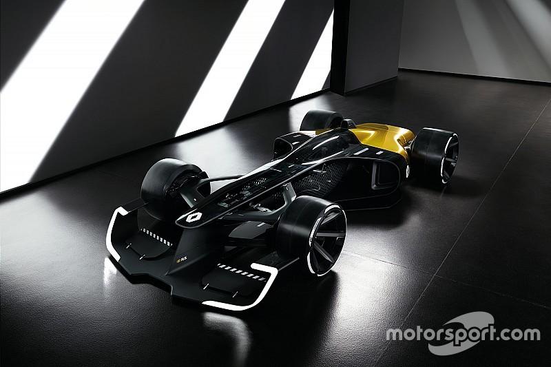 GALERI: Konsep mobil Renault F1 2027
