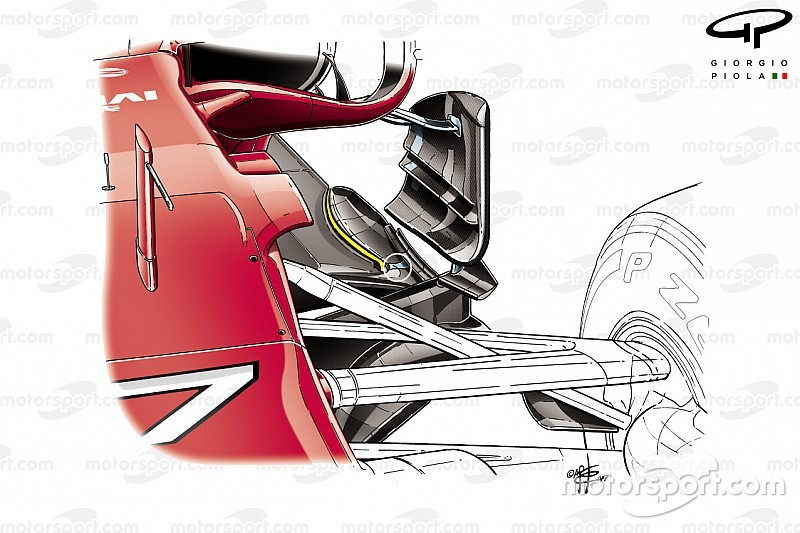 2017 Formula 1 sezonunda öne çıkan 5 teknik çözüm