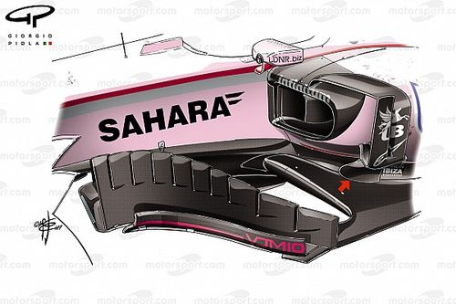 Tech analysis: How Force India optimised its design in Bahrain