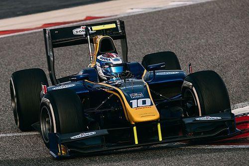 Latifi snelste op tweede F2-testdag Bahrein, De Vries topt middagsessie