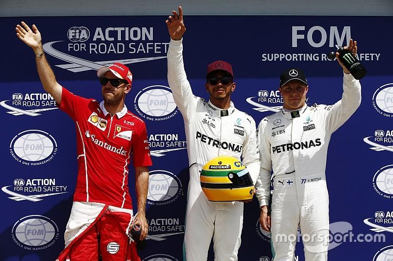 Nach 65. F1-Pole: Lewis Hamilton erhält Ayrton Sennas Helm