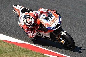 Quatrième, Lorenzo poursuit sa progression avec la Ducati