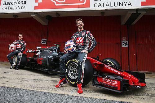 """Grosjean : """"La voiture a l'air bien née"""""""