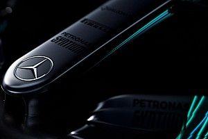 Mercedes lanza un avance de las fotos de su coche para 2017