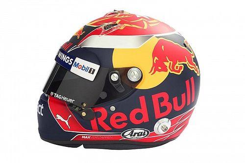 Bildergalerie: Der neue Helm von Max Verstappen für die Formel 1 2017