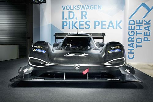 VW reveals electric-powered Pikes Peak contender