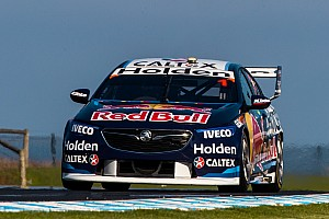 Supercars Breaking news Whincup loses second due to pitstop infringement