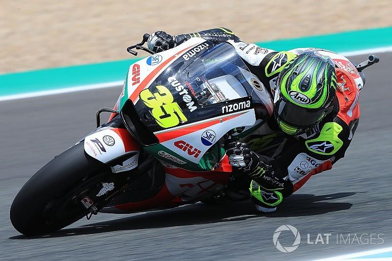 Crutchlow logra la pole con la vuelta más rápida jamás dada en Jerez