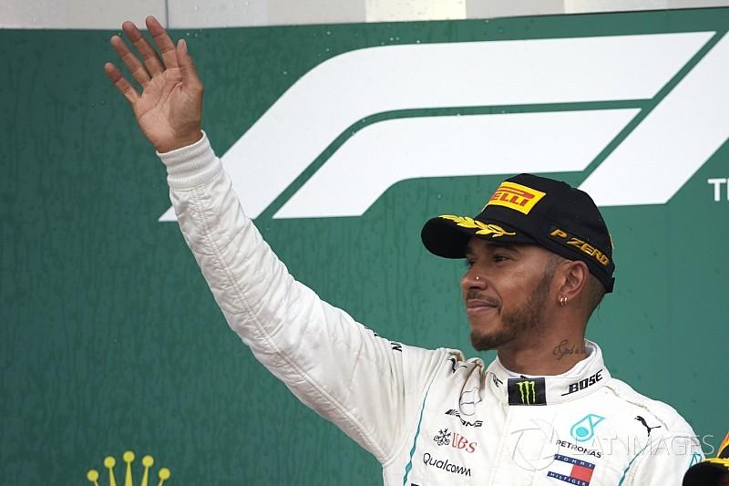 """Different"" Hamilton explains subdued podium celebrations"