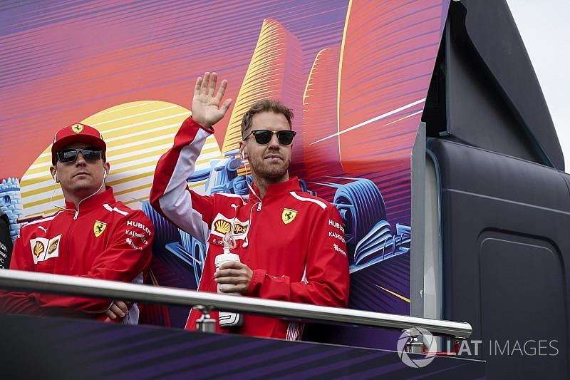 """Vettel: """"Räikkönen egy hihetetlen tehetség"""""""