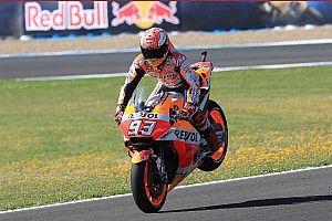 """Strange"" FP4 crash a concern for the race - Marquez"