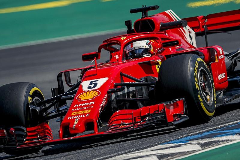 """Vettel verwacht spanning op Hockenheim: """"Strijd met drie teams"""""""