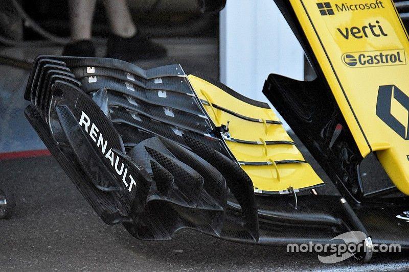 Renault revela novo conceito de asa dianteira
