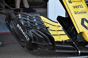 Renault: c'è una nuova ala anteriore che esaspera alcuni concetti sulla R.S.18
