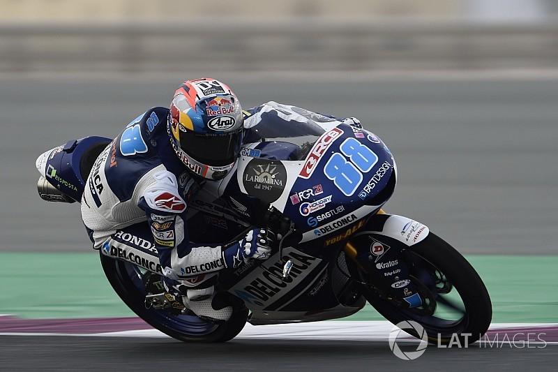 Moto3:マルティンが開幕戦をコントロール。鳥羽は7位、佐々木8位