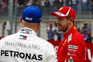 Vettel tisztában van vele, mennyit veszítenek a fejlesztett Mercedeshez képest