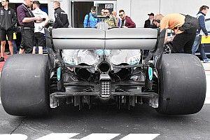 Mercedes: per completare l'opera W09 spec B c'è anche un diffusore nuovo