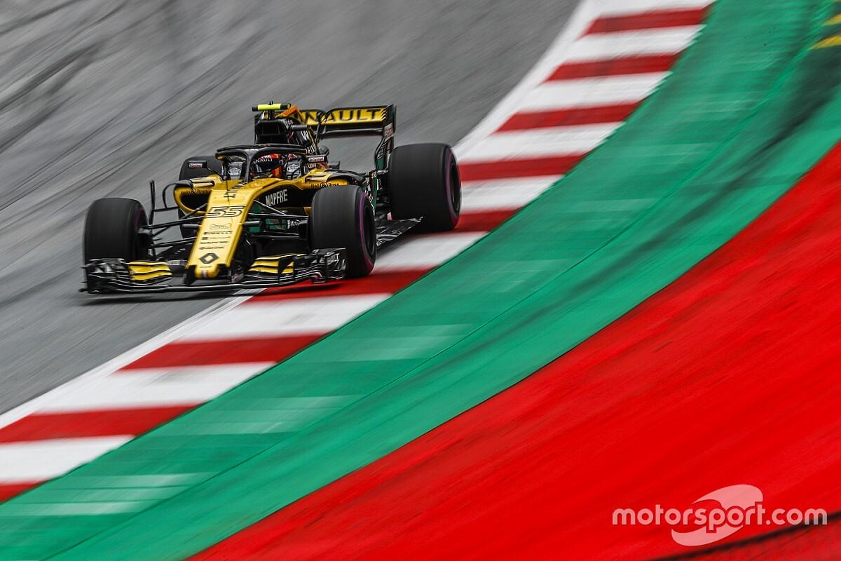 Renault F1 test met 2018-wagen op de Red Bull Ring