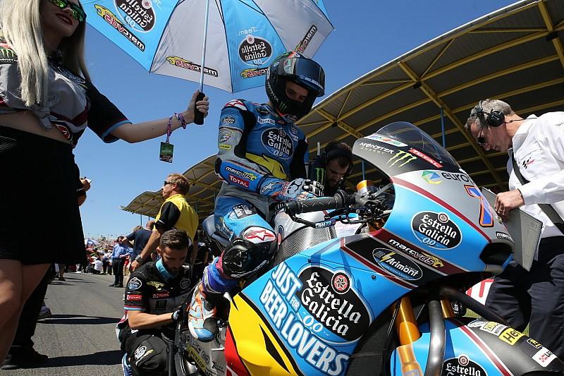 Márquez seguirá en 2019 con Estrella Galicia en Moto2