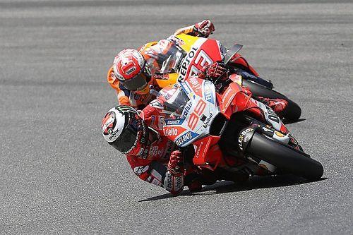 マルケス、転倒なくても勝てなかったと認める。原因はハードタイヤ