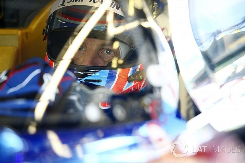 """Button encontró el circuito de Le Mans """"desconcertante"""""""