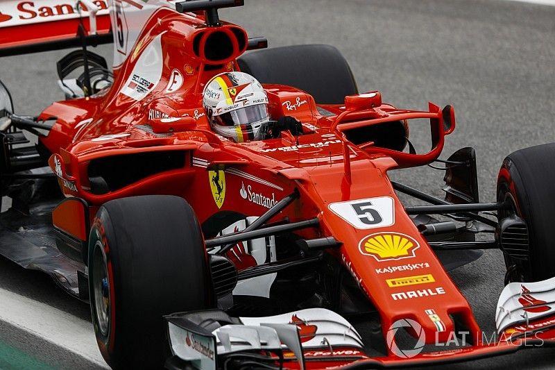 Vettel vince in Brasile con la Ferrari, Raikkonen sul podio davanti a Hamilton!