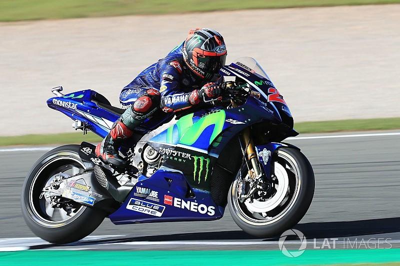 "Sans explication, Viñales a retrouvé ""sa"" Yamaha et un bon feeling"