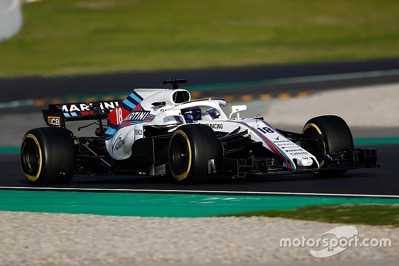 """Williams: """"Problemen bij ingaan bochten en met stabiliteit"""""""