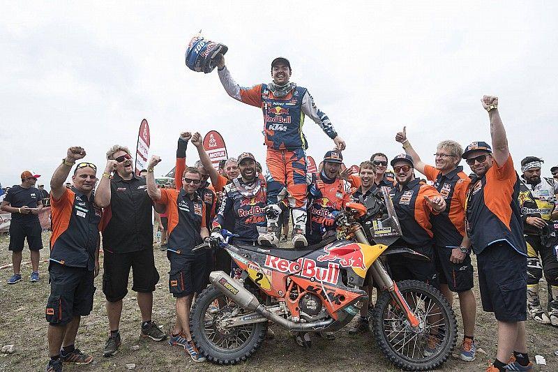 """Dakar-Sieger Matthias Walkner: """"Es ist extrem geil und lässig!"""""""