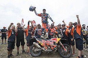 "Dakar, Walkner orgoglio KTM: ""Trionfo tutto austriaco, è grandioso"""