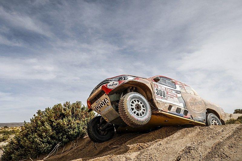 Dakar 2018, 11. Etap: Toyota ile Ten Brinke en hızlı, Sainz'ın cezası silindi