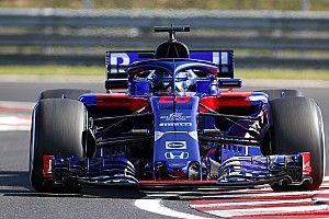 Test Hungaroring, Giorno 1, ore 11: Hartley in vetta con la Toro Rosso. Williams e Force India provano le ali 2019