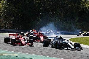 Bottas penalizado con 10 segundos por el incidente con Ricciardo