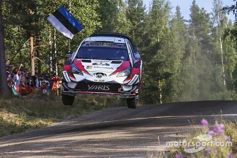 El WRC hace un guiño a Estonia