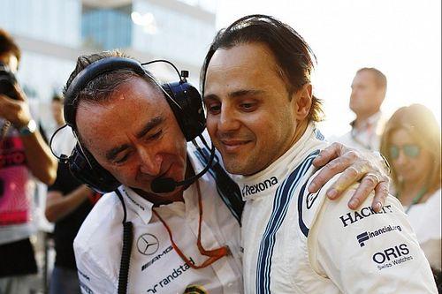 Massa revela como 'desistiu' da aposentadoria na F1 pela 2ª vez e critica Paddy Lowe: 'Esperava mais'