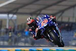 Viñales satisfait de sa moto au Mans
