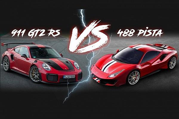 Automotive Noticias de última hora Ferrari 488 Pista vs. Porsche 911 GT2 RS: la batalla de los números