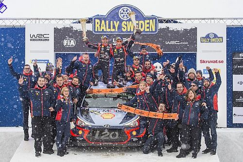 Sweden WRC: Neuville takes points lead with win