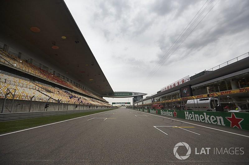 El clima para el GP de China