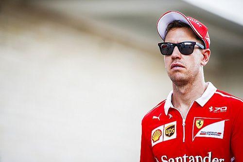 """Vettel: """"Giornata difficile, ma la Ferrari è molto veloce"""""""