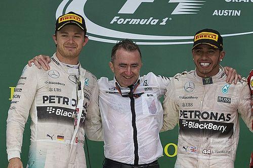 Hamilton se contrefiche de ce que pense Rosberg de son âge et niveau