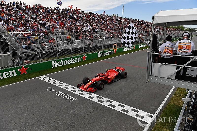 FIA explains Canadian GP chequered flag incident