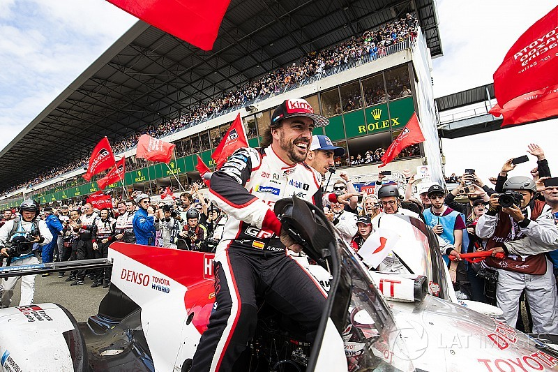 "Toyota win on ""higher level"" than other Le Mans triumphs - Alonso"