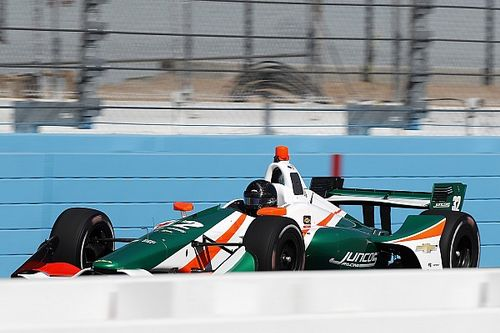"Kaiser ""exceeded expectations"" says Juncos after IndyCar test"