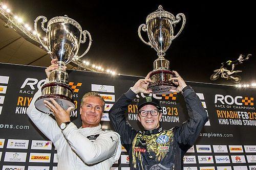 Race Of Champions: Coulthard juara usai kalahkan Solberg