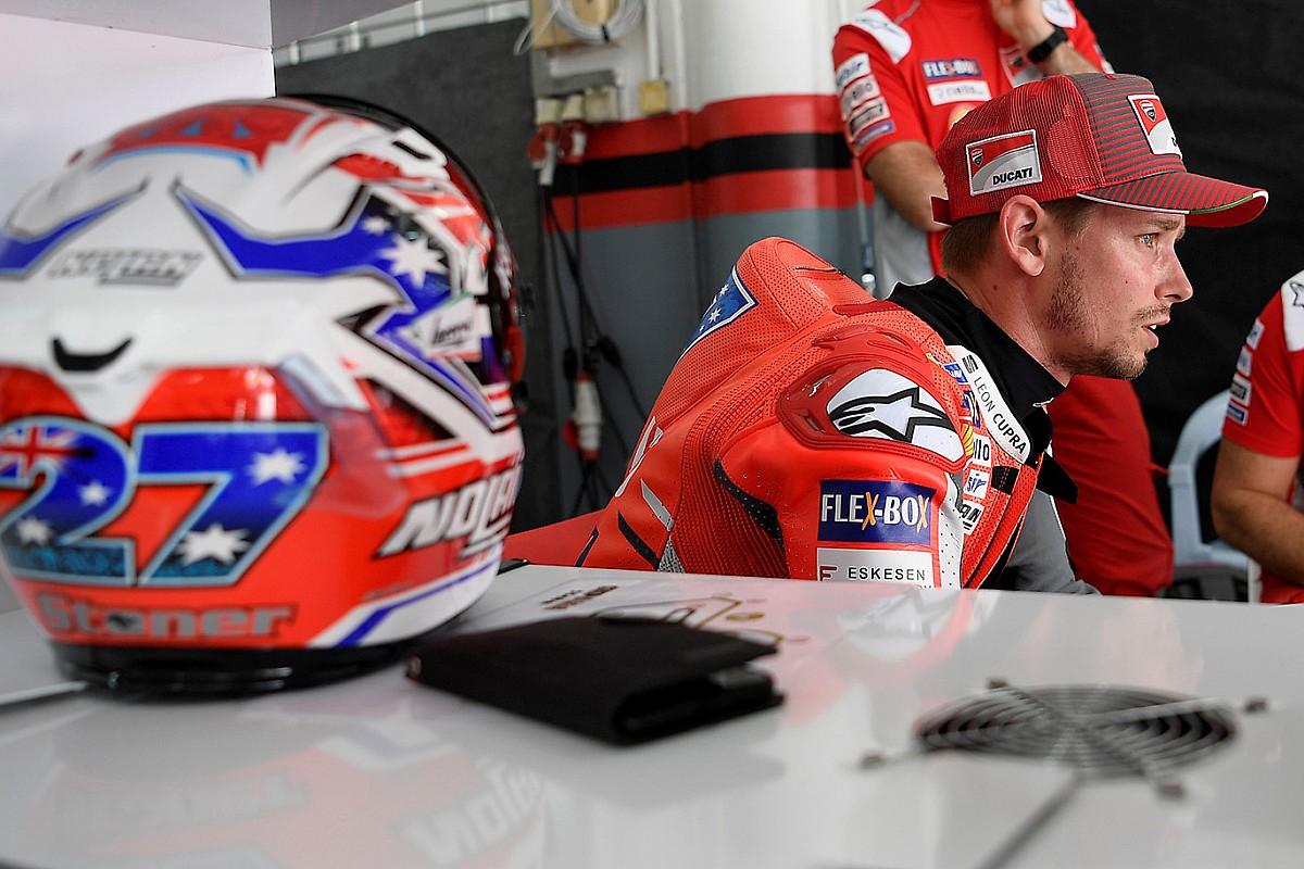 """Stoner confirma que no renovará con Ducati: """"No siguen mis indicaciones"""""""