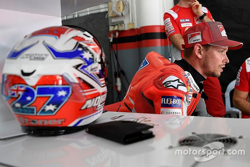 "Stoner : ""La Ducati sera toujours particulière"""
