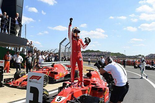 Formel 1 Silverstone 2018: Vettel stiehlt Hamilton die Show!